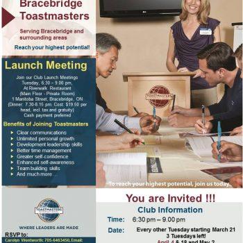 Toastmasters Apr 4 2017