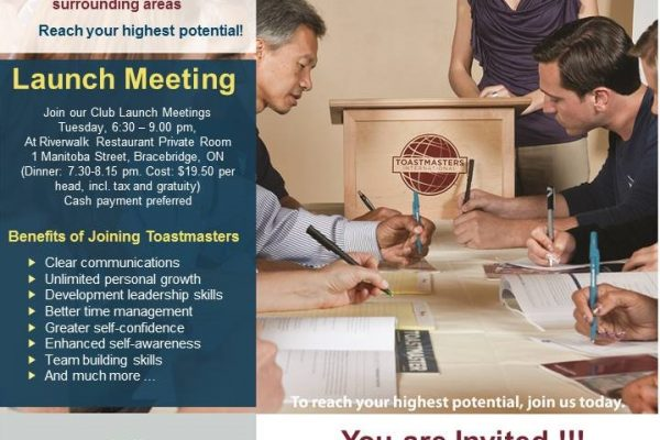 Toastmasters April 18 2017