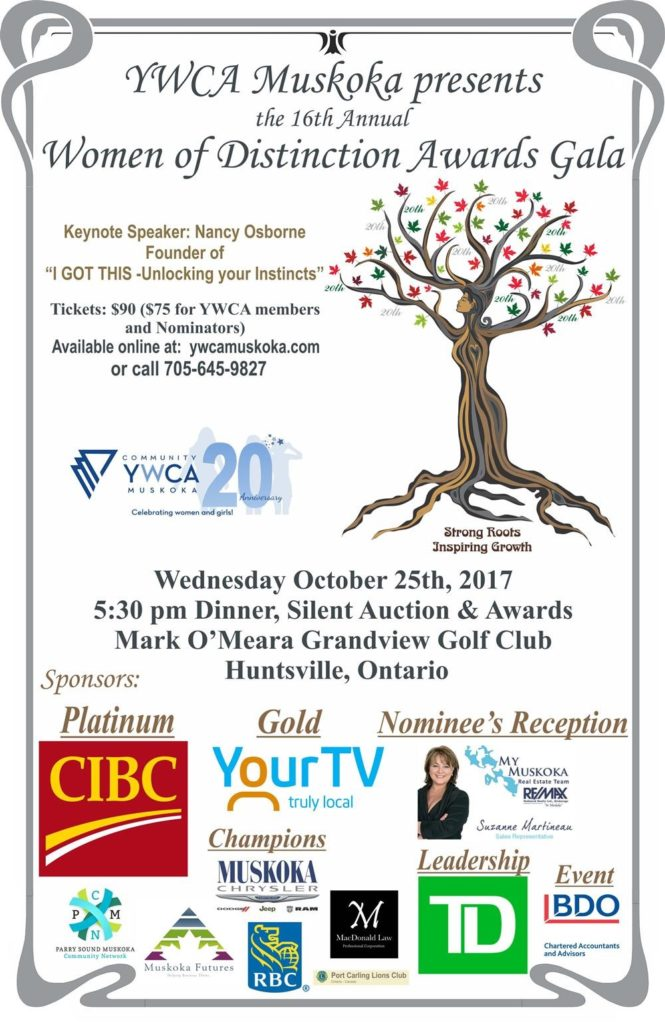 Women of Distinction Awards Gala 2017