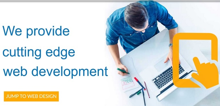 We provide cutting edge web development