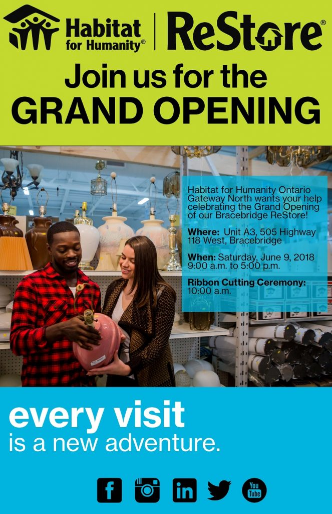 Bracebridge Grand Opening