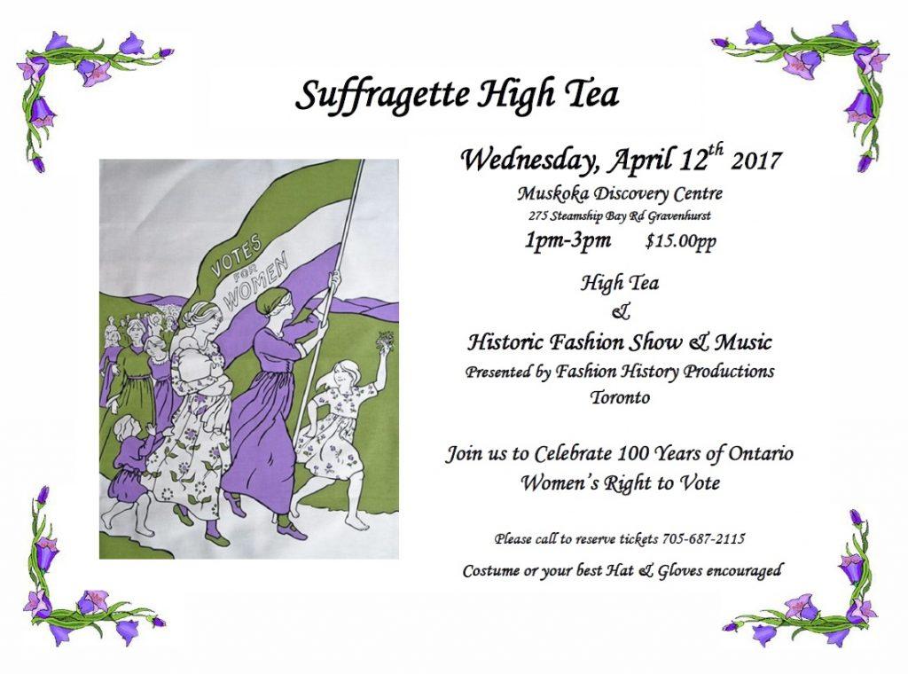 Suffragette High Tea