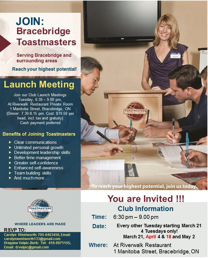 what is toastmasters club